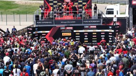 WorldSBK, MotorLand Aragon Podium