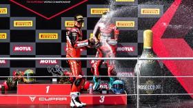 Davies, Melandri, Aruba.it Racing – Ducati, Aragon RAC