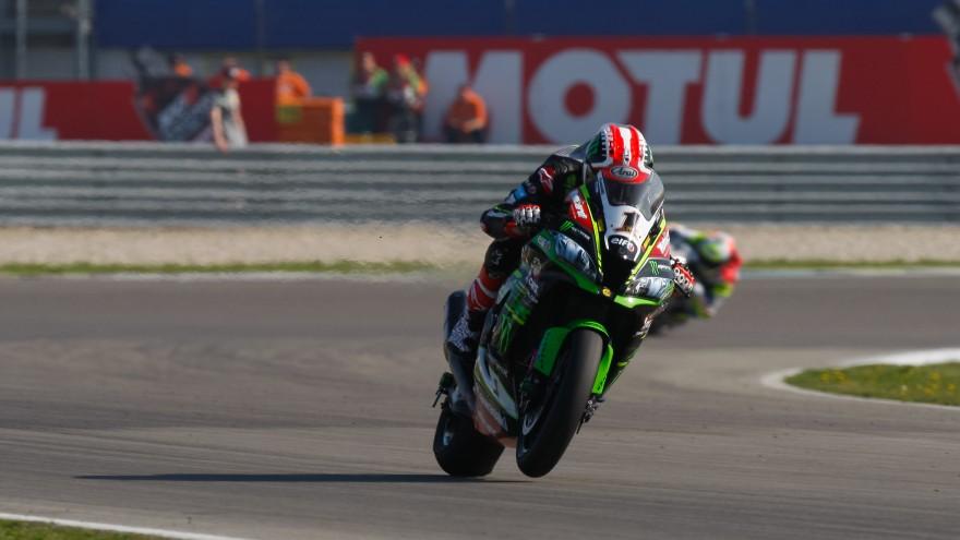 Jonathan Rea, Kawasaki Racing WorldSBK, Assen FP1