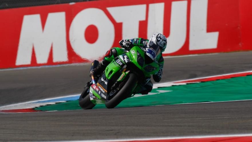 Sheridan Morais, Kawasaki Puccetti Racing, Assen FP2