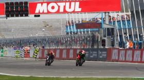 PJ Jacobsen, TripleM Honda World Superbike Team, Toprak Razgatioglu, Kawasaki Puccetti Racing, Assen FP3