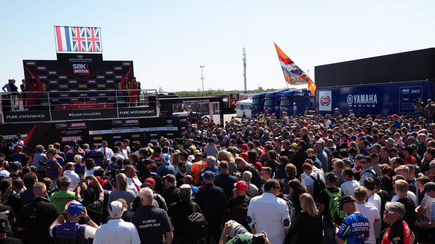 WorldSBK, TT Assen Circuit Podium