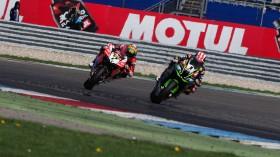 Chaz Davies, Aruba.it Racing - Ducati, Jonathan Rea, Kawasaki Racing Team, Assen RAC1