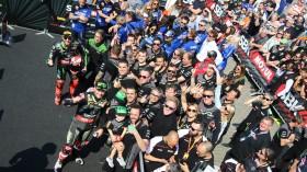 Jonathan Rea, Tom Sykes, Kawasaki Racing Team WorldSBK, Assen RAC2