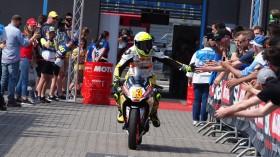 Luca Grunwald, Freudenberg KTM WorldSSP Team, Assen RAC