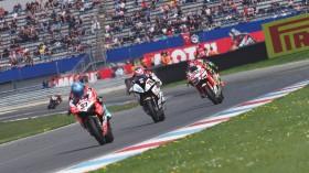 Marco Melandri, Aruba.it Racing - Ducati, Loris Baz, GULF ALTHEA BMW Racing Team, Assen RAC2