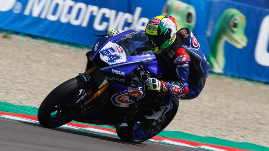 Federico Caricasulo, GRT Yamaha Official WorldSSP Team, Imola FP2