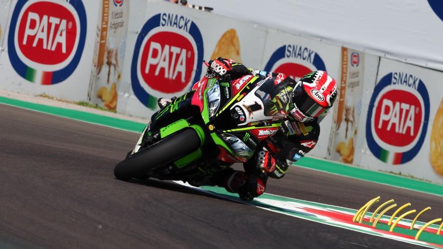 Jonathan Rea, Kawasaki Racing WorldSBK, Imola FP1