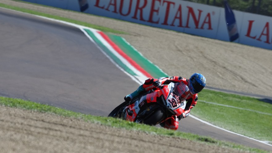 Marco Melandri, Aruba.it Racing – Ducati, Imola FP1