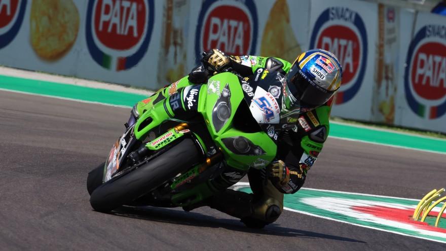 Kenan Sofuoglu, Kawasaki Puccetti Racing, Imola FP2
