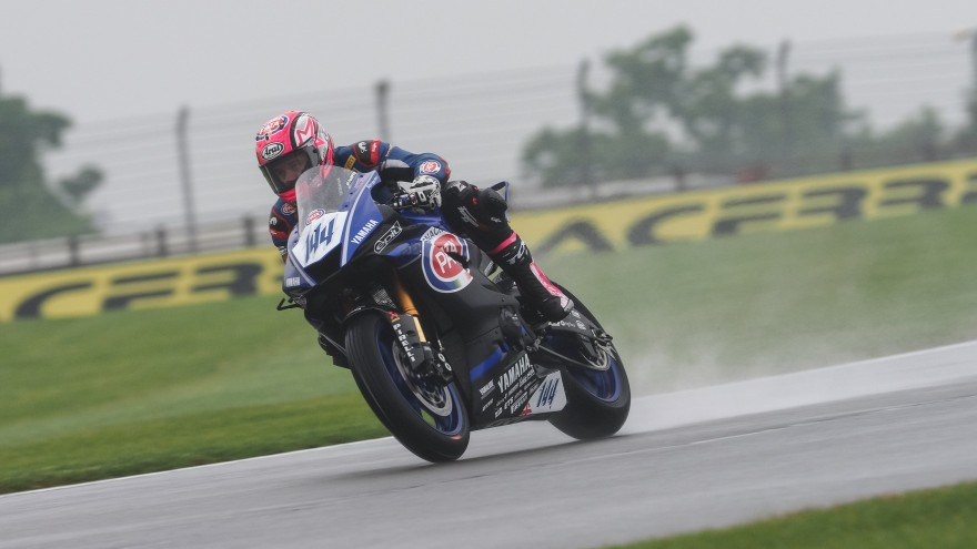 Lucas Mahias, GRT Yamaha Official WorldSSP Team, Donington FP2