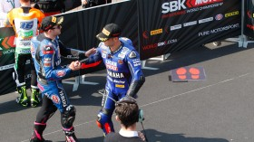 Lucas Mahias, GRT Yamaha Official WorldSSP Team, Sandro Cortese, Kallio Racing, Donington SP2