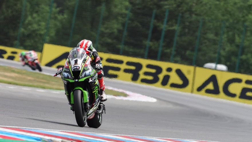 Jonathan Rea, Kawasaki Racing Team WorldSBK, Brno FP2