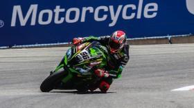 Tom Sykes, Kawasaki Racing Team WorldSBK, Laguna Seca SP2