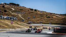 Chaz Davies, Aruba.it Racing - Ducati, Jonathan Rea, Kawasaki Racing Team, Laguna Seca RAC1
