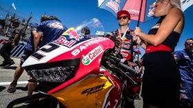 Leon Camier, Red Bull Honda World Superbike Team, Laguna Seca RAC1