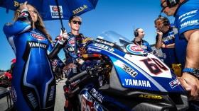 Michael Vd Mark, Pata Yamaha Official WorldSBK Team, Laguna Seca RAC1