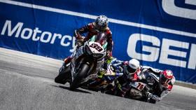 PJ Jacobsen, TripleM Honda World Superbike Team, Laguna Seca RAC2