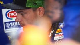 Alex Lowes, Pata Yamaha Official WorldSBK Team, Misano FP3