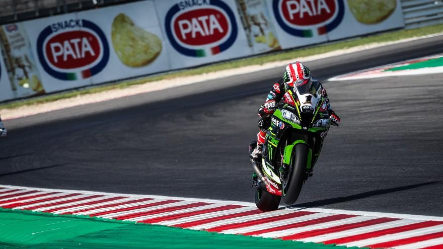 Jonathan Rea, Kawasaki Racing Team WorldSBK, Misano FP1