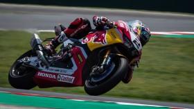 Leon Camier, Red Bull Honda World Superbike Team, Misano FP2