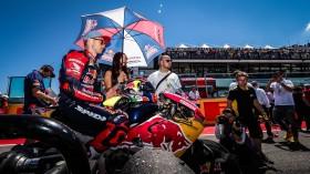 Leon Camier, Red Bull Honda World Superbike Team, Misano RAC1