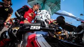 PJ Jacobsen, TripleM Honda World Superbike Team, Misano RAC1