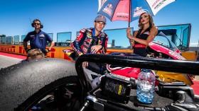 Jake Gagne, Red Bull Honda World Superbike Team, Misano RAC1