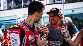Lorenzo Savadori, Milwaukee Aprilia, Troy Corser, Misano RAC2