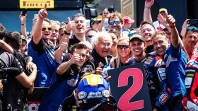 Michael Vd Mark, Pata Yamaha Official WorldSBK Team, Misano RAC2