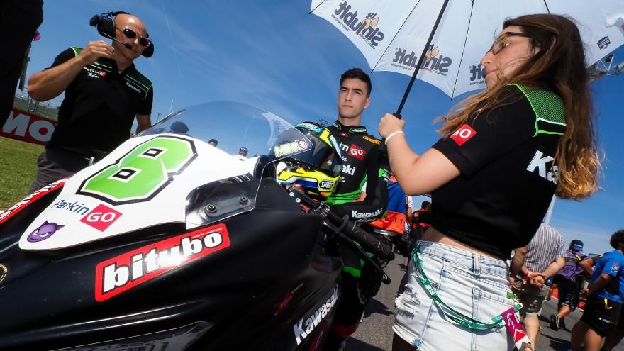 Mika Perez, Kawasaki ParkinGO Team, Misano RAC