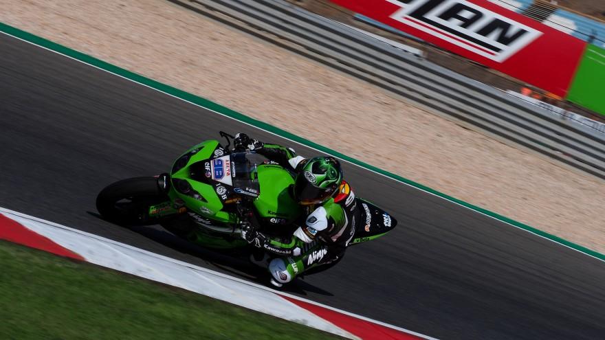 Hector Barbera, Kawasaki Puccetti Racing, Portimao FP2