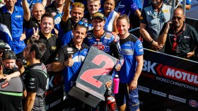 Michael Vd Mark, Pata Yamaha Official WorldSBK Team, Portimao RAC2