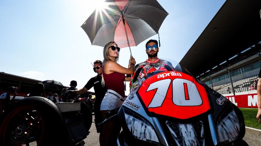 Luca Vitali, Aprilia Racing Team, Portimao RAC