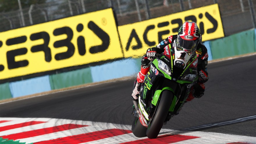 Jonathan Rea, Kawasaki Racing Team WorldSBK, Magny-Cours FP3
