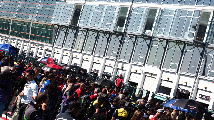 WorldSBK, Magny-Cours Grid