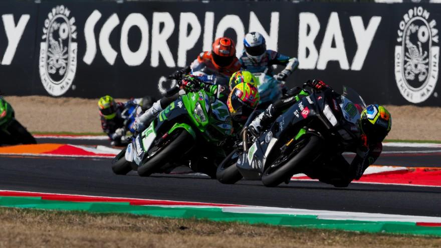 Mika Perez, Kawasaki ParkinGO Team, Enzo de la Vega, GP Project Team, Magny-Cours RAC