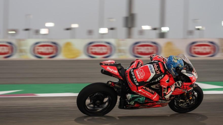 Marco Melandri, Aruba.it Racing - Ducati, Losail FP1