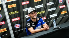 Sandro Cortese, Kallio Racing, Losail Press Conference