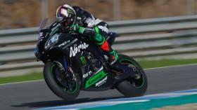 Leon Haslam, Kawasaki Racing Team WorldSBK, Jerez Test Day 1