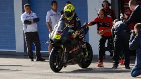 Alvaro Bautista, Aruba.it Racing - Ducati, Jerez Test Day1