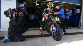 Sandro Cortese, GRT Yamaha, Jerez Test Day 1