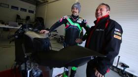 Eugene Laverty, Team GoEleven, Jerez Test January Day 2
