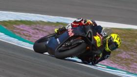 Alvaro Bautista, Aruba.it Racing - Ducati, Jerez Test January Day 2