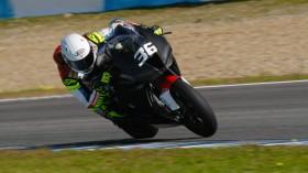 Leandro Mercado, Orelac Racing VerdNatura, Jerez Test January Day 2
