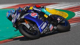 Marco Melandri, GRT Yamaha, Portimao Test January Day 1