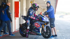 Alex Lowes, Pata Yamaha Official WorldSBK Team, Portimao Test January Day 2