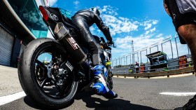 Federico Caricasulo, BARDAHL Evan Bros. WorldSSP Team, Phillip Island Test Day 1