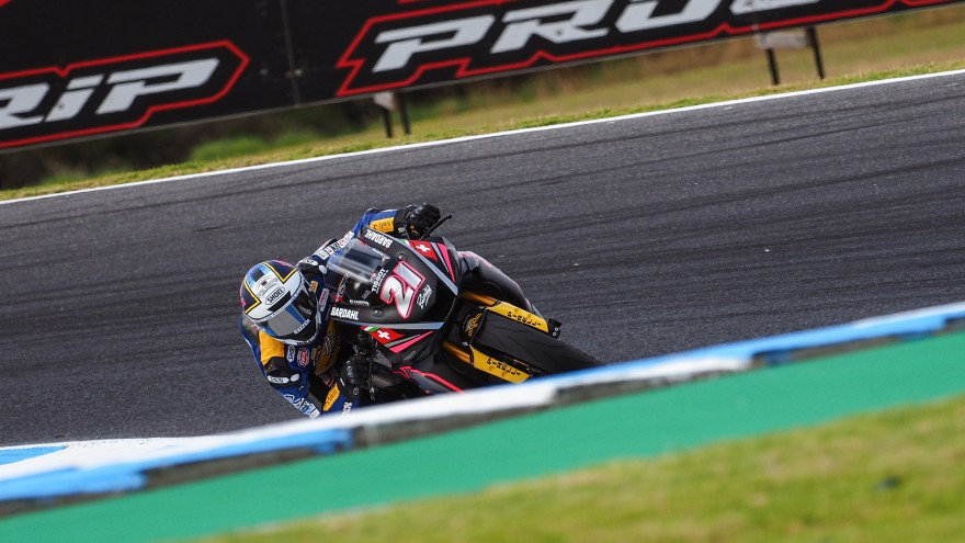 Randy Krummenacher, BARDAHL Evan Bros. WorldSSP Team, Phillip Island Test Day1