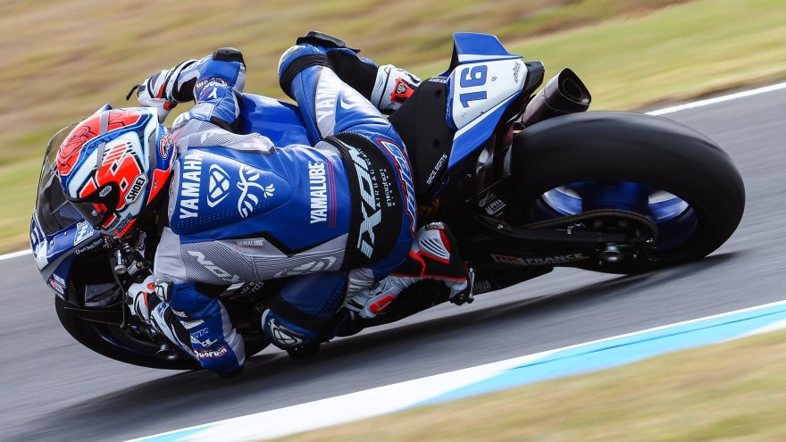 Jules Cluzel, GMT94 YAMAHA, Phillip Island Test Day 1